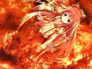 Rating: Safe Score: 104 Tags: fire fujiwara_no_mokou touhou yasuyuki User: Tensa