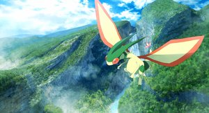 Rating: Safe Score: 11 Tags: clouds flygon landscape nobody pokemon ribero scenic sky water waterfall User: otaku_emmy