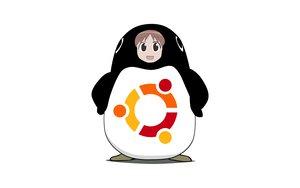 Rating: Safe Score: 14 Tags: azumanga_daioh linux mihama_chiyo ubuntu white User: Oyashiro-sama