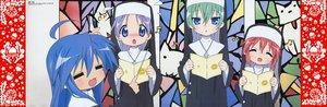 Rating: Safe Score: 9 Tags: hiiragi_tsukasa izumi_konata lucky_star User: Oyashiro-sama