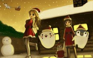 Rating: Questionable Score: 11 Tags: christmas tagme User: Oyashiro-sama