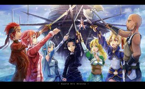 Rating: Safe Score: 141 Tags: andrew_gilbert_mills animal_ears armor ayano_keiko black_eyes black_hair blonde_hair blue_eyes blue_hair d.b.spark green_eyes kirigaya_kazuto leafa lisbeth male pink_hair pointed_ears red_eyes red_hair sword sword_art_online tsuboi_ryoutarou weapon wings yellow_eyes yui_(sword_art_online) yuuki_asuna User: Maboroshi