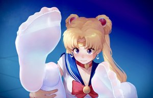Rating: Safe Score: 48 Tags: blonde_hair blue_eyes choker close headband ice_(dzs1392584271) long_hair pantyhose sailor_moon sailor_moon_(character) school_uniform tsukino_usagi twintails User: FormX