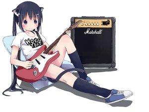 Rating: Questionable Score: 38 Tags: animal_ears catgirl guitar instrument k-on! nakano_azusa sakuraba_hikaru_(loveindog) twintails User: gnarf1975