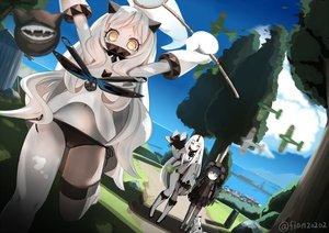 Rating: Safe Score: 75 Tags: isolated_island_oni kantai_collection nasubi_(fian0202) northern_ocean_hime seaport_hime signed tagme User: ArthurS91