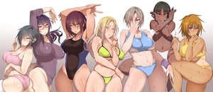 Rating: Questionable Score: 83 Tags: ass bikini black_eyes black_hair blonde_hair bloomers blue_eyes bra breast_hold breasts brown_hair cleavage dark_skin glasses gradient gray_hair group jojo_no_kimyou_na_bouken korotsuke leotard long_hair navel necklace orange_hair original panties parody pink_eyes purple_eyes purple_hair red_eyes short_hair skintight swimsuit tan_lines thighhighs underboob underwear wet wristwear yellow_eyes User: otaku_emmy