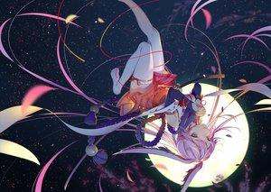 Rating: Safe Score: 115 Tags: animal_ears aqua_eyes bunny_ears honkai_impact katana long_hair moon panties purple_hair ribbons rosele sword thighhighs underwear weapon yae_sakura_(benghuai_xueyuan) User: RyuZU