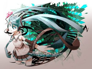 Rating: Safe Score: 30 Tags: hatsune_miku kawazu vocaloid User: anaraquelk2