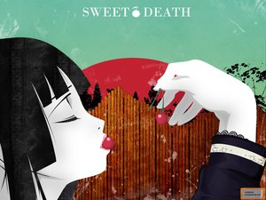 Rating: Safe Score: 9 Tags: black_hair cherry enma_ai food fruit jigoku_shoujo User: Oyashiro-sama
