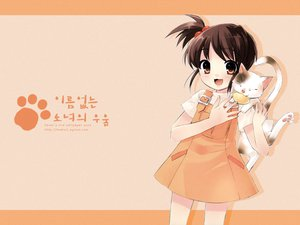 Rating: Safe Score: 12 Tags: animal cat kyon_no_imouto shamisen suzumiya_haruhi_no_yuutsu User: 秀悟