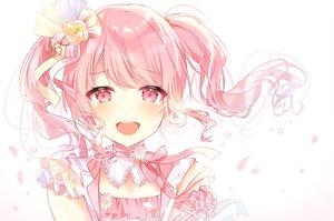 Rating: Safe Score: 59 Tags: bang_dream! blush bow maruyama_aya pink_eyes pink_hair taya_(pixiv5323203) tears twintails User: RyuZU