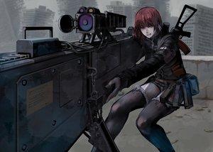 Rating: Safe Score: 23 Tags: gun jittsu original ruins shorts thighhighs weapon User: FormX