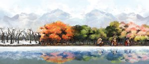 Rating: Safe Score: 119 Tags: chris4708 original scenic tree vocaloid water User: FormX
