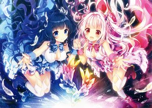 Rating: Safe Score: 148 Tags: 2girls original riichu scan User: mattiasc02