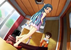 Rating: Safe Score: 12 Tags: aoba_tsugumi kamichu kannagi_crazy_shrine_maidens nagi User: HawthorneKitty