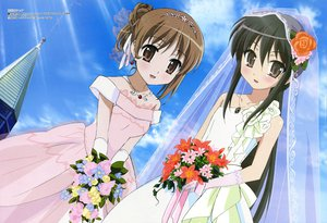 Rating: Questionable Score: 24 Tags: loli megami scan shakugan_no_shana shana wedding_attire yoshida_kazumi User: Oyashiro-sama