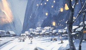 Rating: Safe Score: 131 Tags: original scenic snow wlop User: mattiasc02