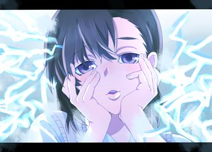 Rating: Safe Score: 18 Tags: black_hair mirai_nikki misaka_mikoto parody purple_eyes short_hair to_aru_kagaku_no_railgun to_aru_majutsu_no_index User: ishmon16