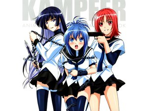 Rating: Questionable Score: 67 Tags: kampfer mishima_akane sangou_shizuku senou_natsuru User: jjjjjhhhhh
