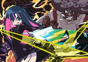 Rating: Questionable Score: 18 Tags: garterbelt_(character) panty_&_stocking_with_garterbelt panty_(character) stocking_(character) User: w7382001