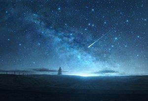Rating: Safe Score: 101 Tags: clouds landscape mks nobody original scenic sky stars tree User: RyuZU