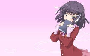 Rating: Safe Score: 65 Tags: gradient kami_nomi_zo_shiru_sekai ribbons school_uniform shiomiya_shiori yuto User: SciFi
