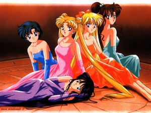 Rating: Safe Score: 39 Tags: aino_minako bow dress group hino_rei kino_makoto mizuno_ami ponytail sailor_moon tsukino_usagi twintails watermark User: Oyashiro-sama