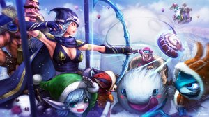 Rating: Safe Score: 59 Tags: ashe bibiko bow_(weapon) braum_(league_of_legends) breasts cape christmas cleavage elbow_gloves fizz_(league_of_legends) gnar goggles group hat league_of_legends male pointed_ears sejuani snow tristana veigar weapon User: Flandre93