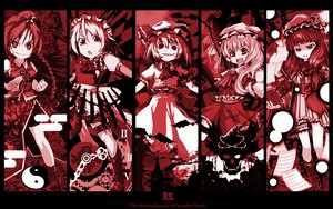 Rating: Safe Score: 75 Tags: altria9 code_geass flandre_scarlet group hong_meiling izayoi_sakuya maid monochrome parody patchouli_knowledge remilia_scarlet touhou vampire User: PAIIS
