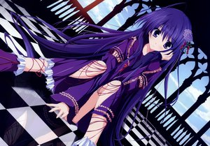 Rating: Safe Score: 246 Tags: blue_eyes blue_hair dress goth-loli lolita_fashion long_hair nazo_no_shoujo scan tsukinon tsukisome_no_kasa User: FormX