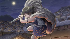 Rating: Safe Score: 115 Tags: chiaki_rakutarou ghibli mononoke_hime moon night san weapon User: gnarf1975