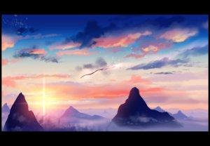 Rating: Safe Score: 63 Tags: clouds dragon matsuki_(mikipingpong) original sky sunset User: FormX