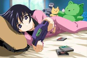 Rating: Safe Score: 27 Tags: bed green_green minami_sanae pajamas User: 秀悟
