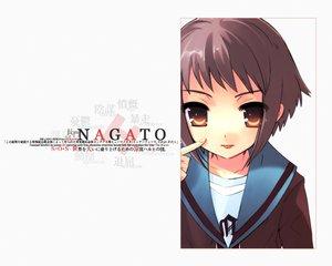 Rating: Safe Score: 255 Tags: brown_eyes brown_hair itou_noiji nagato_yuki school_uniform short_hair suzumiya_haruhi_no_yuutsu white User: Oyashiro-sama