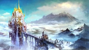 Rating: Safe Score: 102 Tags: clouds final_fantasy final_fantasy_xiv landscape nobody scenic sky tagme_(artist) User: Wiresetc