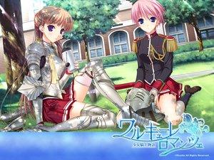 Rating: Safe Score: 42 Tags: armor kisaki_mio komori_kei noel_marres_ascot walkure_romanze User: kowarenai