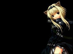 Rating: Safe Score: 45 Tags: alice_soft animal_ears big_bang_age black catgirl daibanchou hiouguu_kaguya User: Oyashiro-sama
