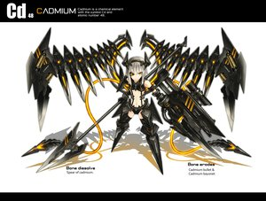 Rating: Safe Score: 224 Tags: gia gun original weapon white_hair wings yellow_eyes User: SciFi