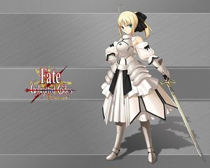 Rating: Safe Score: 24 Tags: fate/stay_night fate/unlimited_codes saber saber_lily User: Zero