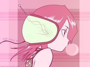 Rating: Safe Score: 26 Tags: bleach close kuchiki_rukia pink polychromatic User: atlantiza