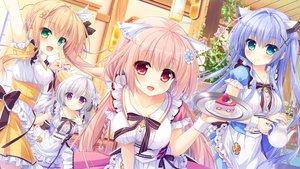 Rating: Safe Score: 129 Tags: ameto_yuki aqua_eyes blonde_hair blue_hair blush bow breasts dress drink flowers food fruit game_cg gray_hair green_eyes haru_(karenai_sekai_to_owaru_hana) karenai_sekai_to_owaru_hana kotose_(karenai_sekai_to_owaru_hana) long_hair maid pink_hair purple_eyes red_eyes ren_(karenai_sekai_to_owaru_hana) ribbons sweet&tea yukina_(karenai_sekai_to_owaru_hana) User: mattiasc02