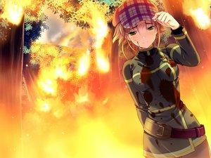 Rating: Safe Score: 45 Tags: amakura amamiya_kisa blood fire forest game_cg id_-rebirth_session- root_nuko tree User: korokun