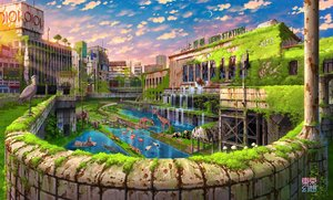 Rating: Safe Score: 51 Tags: animal bear bird building city elephant grass lion original panda ruins scenic sunset tokyogenso water watermark User: FormX
