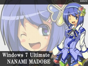 Rating: Safe Score: 15 Tags: blue_hair bow madobe_nanami microsoft mukuroi os-tan purple_eyes short_hair skirt windows wink zoom_layer User: Kumacuda