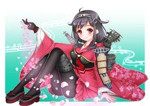 Rating: Safe Score: 97 Tags: aliasing anthropomorphism blush japanese_clothes kantai_collection kimono kojiro_d pantyhose petals purple_hair red_eyes ryuuhou_(kancolle) taigei_(kancolle) tie twintails User: kokiriloz
