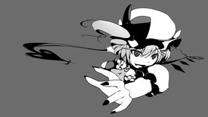 Rating: Safe Score: 20 Tags: flandre_scarlet monochrome touhou User: Prepaid