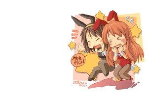 Rating: Safe Score: 31 Tags: animal_ears asahina_mikuru brown_hair bunny_ears bunnygirl long_hair monji_(nobanashi_areno) pantyhose short_hair suzumiya_haruhi suzumiya_haruhi_no_yuutsu white User: SciFi