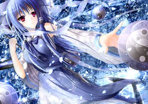 Rating: Safe Score: 134 Tags: blue_hair bow garyljq hakurei_reimu long_hair pink_eyes touhou User: opai