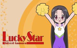 Rating: Safe Score: 5 Tags: cheerleader lucky_star tamura_hiyori User: Oyashiro-sama