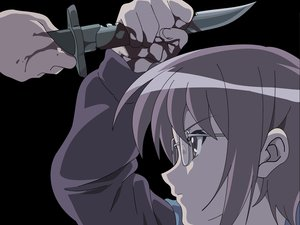 Rating: Safe Score: 52 Tags: blood glasses knife nagato_yuki suzumiya_haruhi_no_yuutsu vector User: Oyashiro-sama
